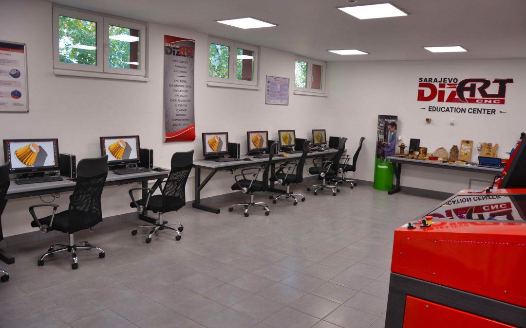 SEDMI JAVNI POZIV za prijavu zainteresovanih nezaposlenih lica za pohađanje stručnog usavršavanja za programiranje i rad na CNC i laserskim mašinama